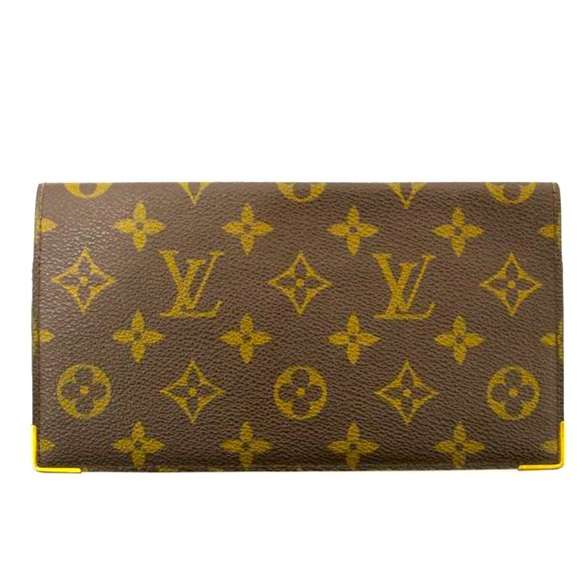 Louis Vuitton Check Book Wallet
